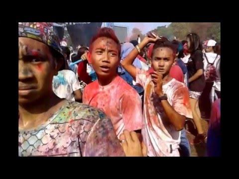 Colour Run, di Kraksaan Probolinggo
