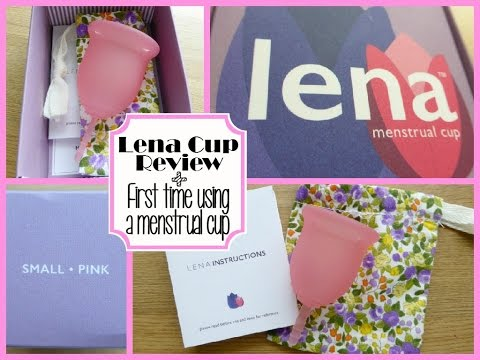Lena Cup review & First time using a menstrual cup.