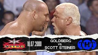Scott Steiner vs Goldberg  18/07/00