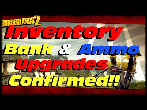 How to increase inventory slots in borderlands 2