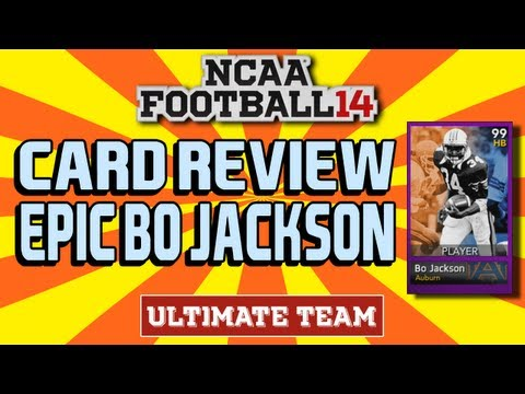 NFUT Spotlight: Epic Bo Jackson   NCAA Football Ultimate Team -- DarkAlpha [MUTEVOLUTION.COM]