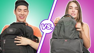 Men and Women Compare What's In Their Bags • Part 3