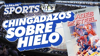 Chingadazos sobre Hielo,  Blades of Steel | BarcadeVG Sports