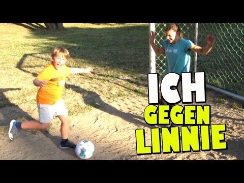 Fußball Challenge gegen Linnie 👦 Ash5ive 🙃 Spielzeug und Kinderkanal 😁