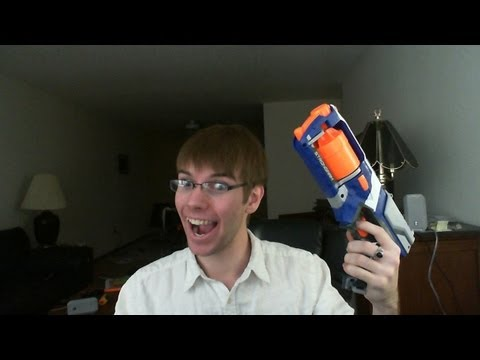 Nerf  Elite Strongarm review!