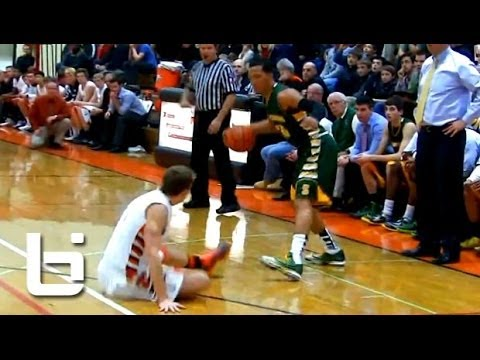 Jalen Brunson Is The BEST Point Guard in Class of 2015! Junior Year Mixtape!