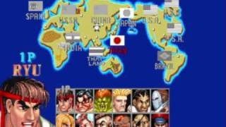 player select EXTENDED street fighter 2