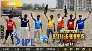 IPL teams in PUBG   PUBG in Real Life   Funny video 2019
