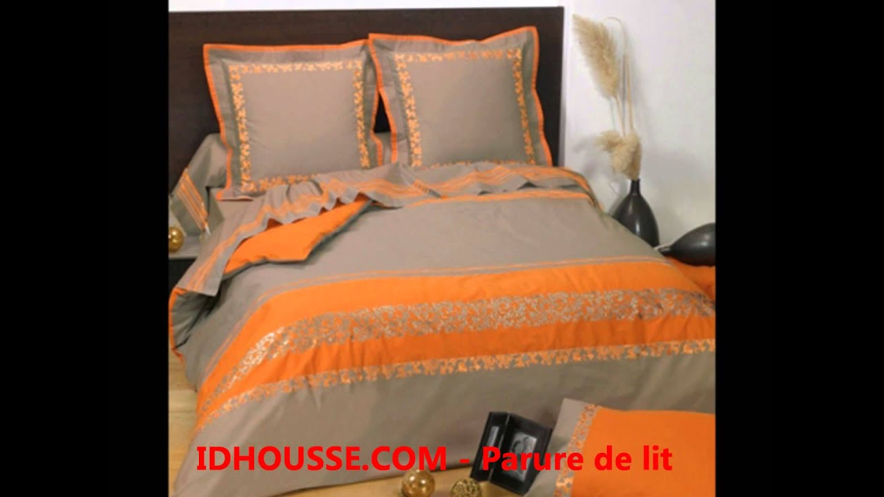 parure de lit changez vos parures de lit idhousse tel 0355234039 youtube. Black Bedroom Furniture Sets. Home Design Ideas