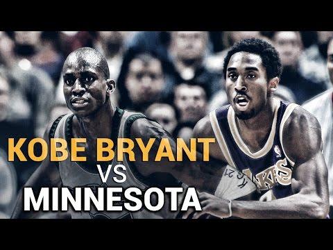 Kobe Bryant vs. Minnesota Timberwolves