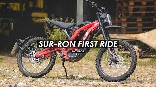 Sur-Ron Off-Road Electric Motorcycle e-Bike First Ride Review
