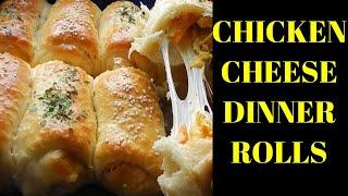 How to make Dinner roll   Dinner Roll Recipe   Chicken Cheese Dinner rolls   2020