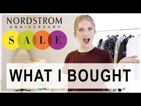 My Nordstrom Sale Buys! | Faux Leather Jeans?!
