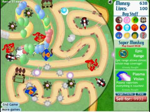 Best Bloons Tower Defense 3 Strategy - YouTube