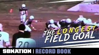 The actual longest field goal in organized football was kicked by lovesick Swede | Record Book