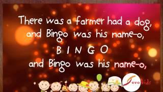 B-I-N-G-O Nursery Rhyme (Sing A Long) - Evokids
