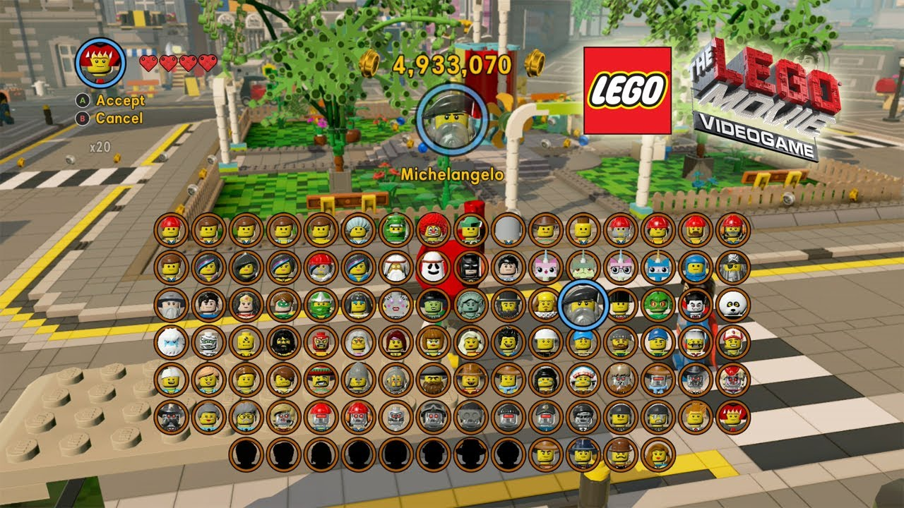 The Lego Movie Video Game: Unlocking Most of the ...