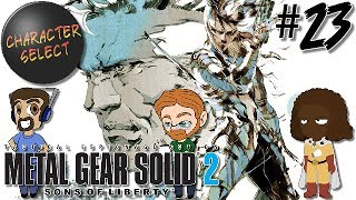 Metal Gear Solid 2 Part 23 - That's a Lot of Metal Gears - CharacterSelect