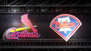 MLB The Show 18 PS4 - Cardinals vs Phillies Game 2 (Full Broadcast Presentation)