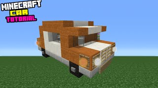 Minecraft Tutorial: How To Make A Car