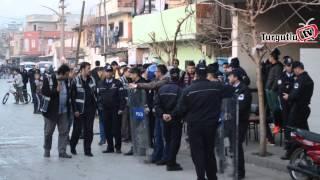 TURGUTLU'DA BİN POLİSİN KATILDIĞI UYGULAMA