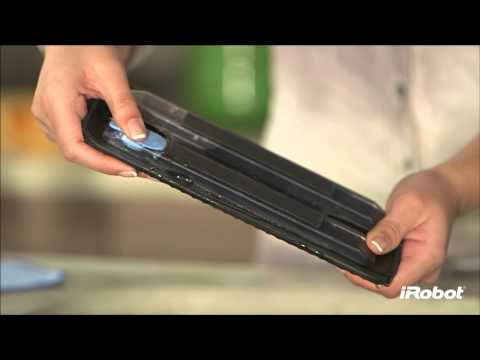 iRobot Braava – How to Attach Cloth to Reservoir Pad