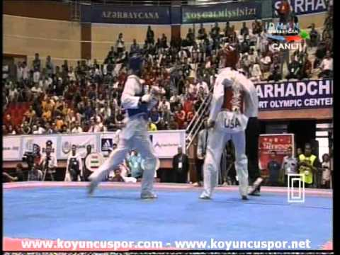 Yousef Karami - Steven Lopez (-80kg world taekwondo Qualification 2011)