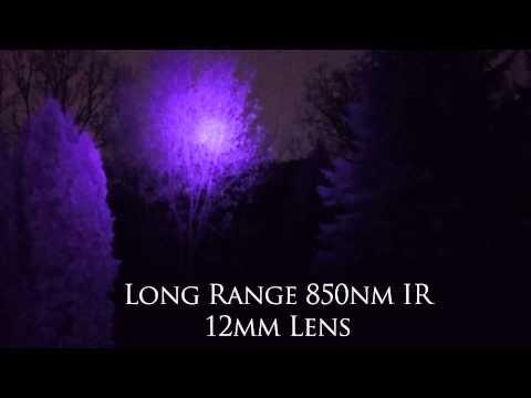 Night Vision Infrared GoPro Hero 4 Black with Long Range Illuminator