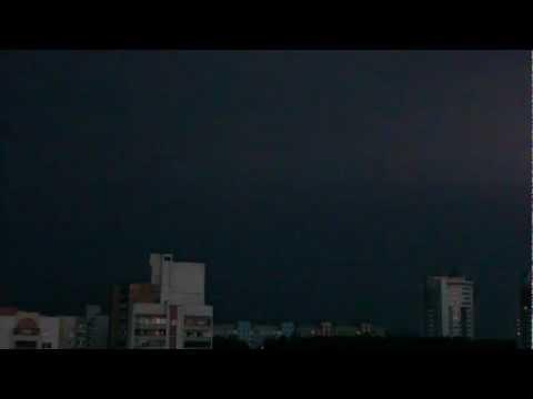 Гомель гроза перед рассветом (5 мая 2012)