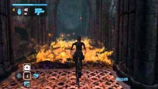 Tomb Raider Legend Time Trial England - King Arthur's Tomb Part 1. Game Walkthrough