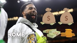 """I Have No Problem With Odell Handing Out Cash After The Championship Game"" 