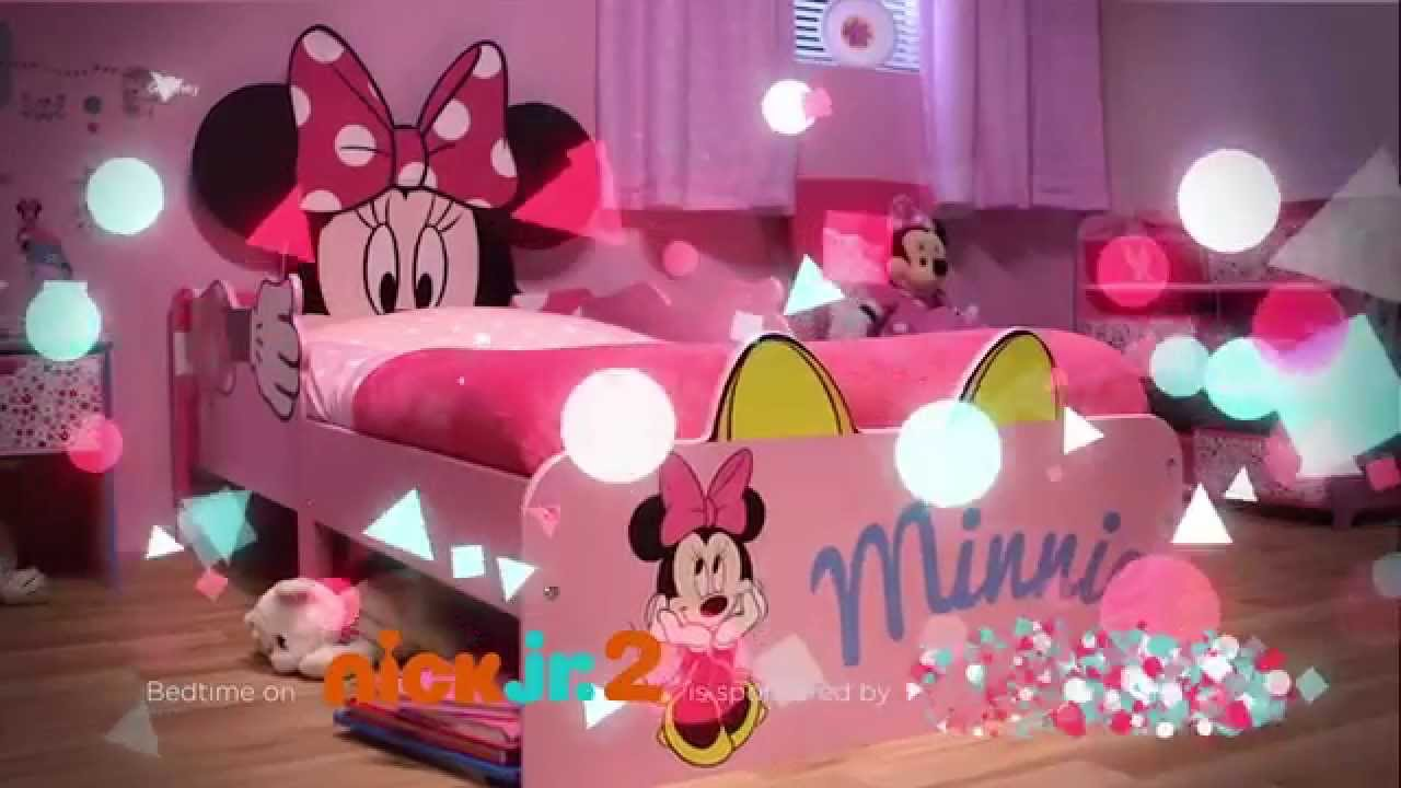 Minnie Mouse SnuggleTime Toddler Bed Closer