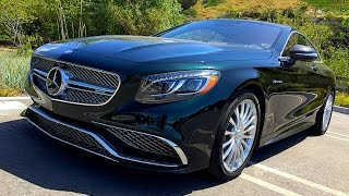 2015 Mercedes Benz AMG S65 Coupe V12 Twin Turbo PREVIEW