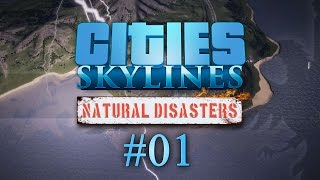Cities Skyline Natural Disasters #01 THUNDER AND LOANING - Let's Play