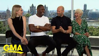 'Hobbs and Shaw' stars talk high-octane film l GMA