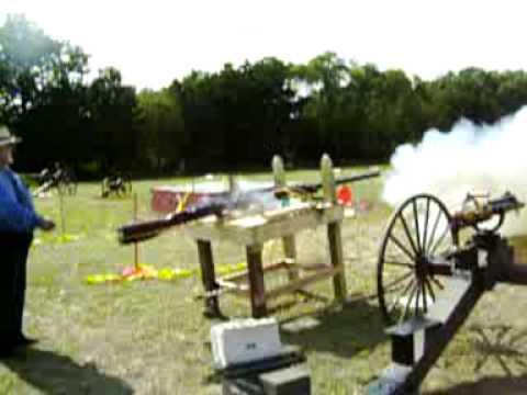 Punt gun firing Video