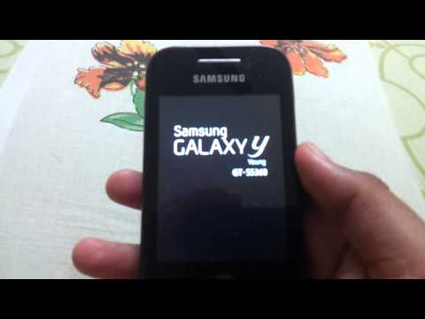 How to root galaxy y GT S5360]