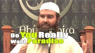 Do You Really Want Paradise – Abdur-Raheem McCarthy