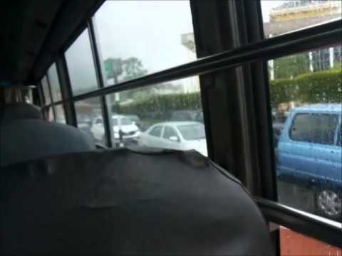 Brunei's Public Bus (Ride to the City from Traders Inn)