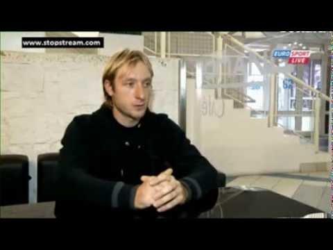 Evgeni Plushenko interview British Eurosport 19.10.2013