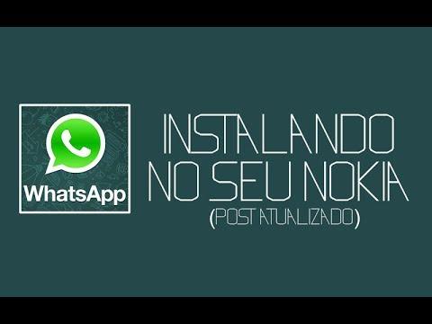 Como Baixar e Instalar o WhatsApp no Nokia C3 Java s40 Passo a Passo
