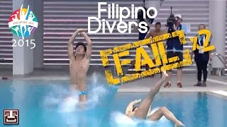 Filipino Dive Fail - SEA Games 2015 - Splash Brothers!