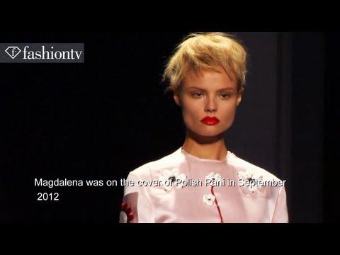 Model Talks - Magdalena Frackowiak | Spring/Summer 2013 Fashion Week| FashionTV