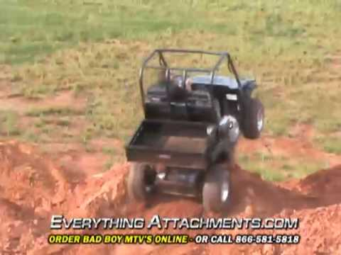 Bad Boy MTV Test Flight - Electric Multi Terrain Vehicle.