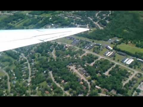 Take-Off From Nashville International Airport (KBNA)