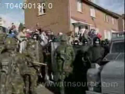 original news footage from holy cross dispute 2001 youtube