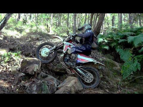 STATIC ZAP FOR UPHILL OBSTACLES Cross Training Enduro