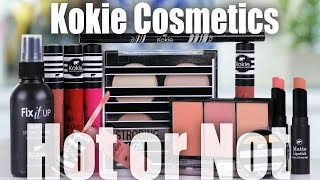 NEW WALMART MAKEUP BRAND REVIEW | Kokie Cosmetics