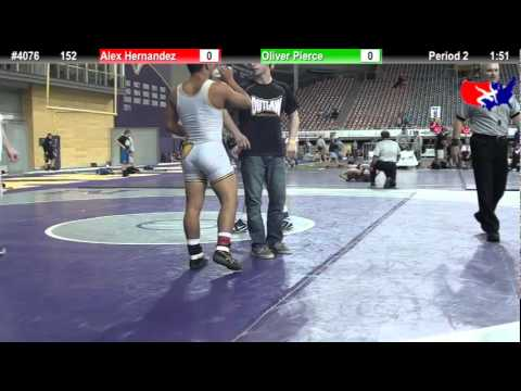 FSN 152: Alex Hernandez (Bettendorf Wrestling) vs. Oliver Pierce (Best Trained) Image 1