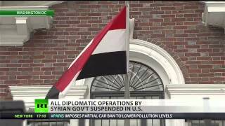 US tells (Syrian) embassy to cease operations  3/18/14